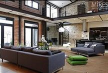 Loft Living / Inspiration for the new city pad.