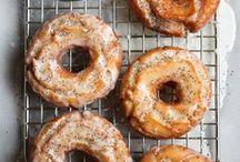 donuts | sweet r o l l s