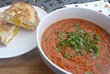 Grilled Cheese & Tomato Soup Recipes / Because this is the best meal. Ever.