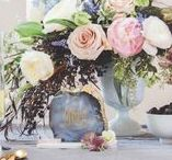 WEDDING - Pantone Inspo - Rose Quartz/Serenity / In an unprecedented move PANTONE have nominated not one but two colors for 2016; Rose Quartz and Serenity.. Here's some wedding inspiration for lovers of these gorgeous pastel tone colors..