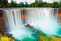 ~Do Go Chasing Waterfalls~ / Waterfalls...listen to the calm / by Nancy Alane Eikenberry