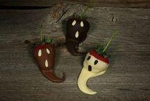 halloween | eats & treats / EAT - drink - AND - be SCARY, ha...how fun!