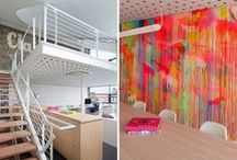 creative work spaces / by bonnie w