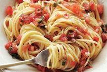 eat {pasta}