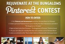 The Bungalows at Terranea / Created this board to enter this contest: http://www.pinterest.com/pin/128634133081082729/. You'll find healthy tips for the new year here!