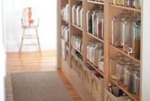 design {pantry} / I have a brilliant idea to relocate our laundry.  This allows the mudroom to be converted into a mudroom/pantry!  Someday...