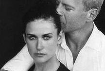C O U P L E S / mostly real-life couples, kisses...