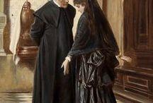 painter: passini, ludwig johann - austrian, 1832-1903