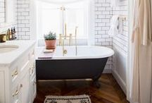Bathroom ideas / by Melissa Dredge