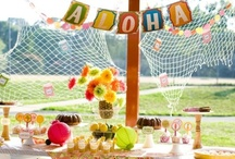 Parties - Luau Picnic Ideas / Potential party theme for a corporate event
