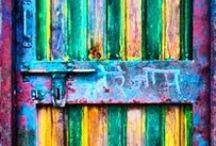 OLD DOORS  / by KR TA