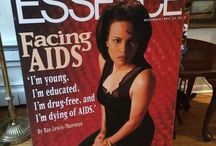 Rae Lewis-Thornton (DivaLivingwithAIDS) / Emmy Award Winning AIDS Activist Rae Lewis-Thornton. The first black woman to tell my story of living with AIDS on the cover of a magazine Essence Dec 1994! She has livived with HIV for 33 years and AIDS for 25. This board is about who I am and what I do!  I love tea, books, handbags and all things fab! I'm A poodle Mom!  Im the owner/designer of RLT Collection! This is ME! / by Rae Lewis-Thornton