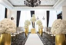 Black & Gold Weddings / by Michael C. Fina