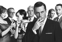 """Mad Men (and Women) / """"Well, I hate to break it to you, but there is no big lie. There is no system. The universe is indifferent."""" - Don Draper • The lives of the men and women who work in an advertising agency in New York in the 1960s. The advertising game becomes more competitive as the industry develops. The agency must adapt to ensure its survival. Don Draper is a talented ad executive at the top of his game, but the secrets from his past and his present threaten to topple his his work and family life."""