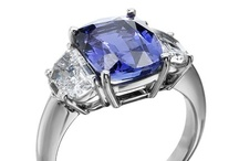 Colored Stone Engagement Rings / Engagement rings with a colored center stone will be a huge trend in 2013!