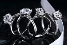 The Best of Our Jewelry / Michael C. Fina carries the largest selection of designer engagement rings and wedding bands on the East Coast. Many of the designers we carry are exclusive to us in the New York area.  These photographs are owned by Michael C. Fina.