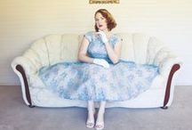 Styling Vintage / Outfit documentation ~ one dress at a time