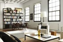 Loft Staging Ideas / Lofts can be tricky home staging projects, here's some inspiration from The Staging Diva®