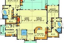 HOUSE PLANS / HOUSE PLANS / by KR TA