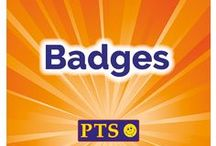 Badges / View our fantastic range of Badges. All items are available online at www.primaryteaching.co.uk.