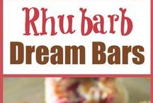 Rhubarb Recipes / All the Recipes with Rhubarb as an ingredient that I may want to try one day.  / by Canadianfreestuff Canada