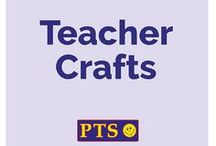 Teacher Crafts / Ideas to brighten up your classroom that don't break the bank! :-)