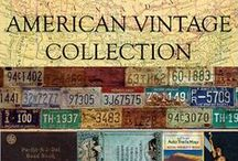 7gypsies: American Vintage / Touches of the past take us on travels new and old across the USA.  Inspired by all that we see, touch, feel and eat as we make our travels.  The perfect road trip and travel scrapbooking and craft collection.