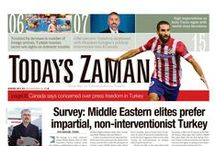 Today's Zaman / Today's Zaman front pages.
