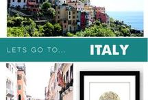 Let's Go To – Italy / Want the inside scoop on where to go, stay, and eat next time you visit Italy? Then be sure to sign up for the PaperFinch newsletter to get all of our Travel Blog tips  http://bit.ly/PaperFinchnews