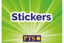Stickers / View our fantastic range of Scented, Personalised, Holographic and Metallic Stickers for your children. All items are available online at www.primaryteaching.co.uk.