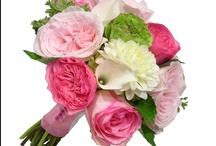 Pink, Green & Ivory Wedding Inspiration Board