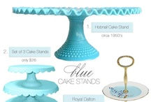 Cake Stand & Topper