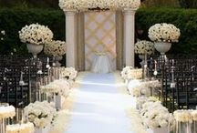 """Say """"Aisle Do"""" / A pretty aisle can make such a big difference! These wedding aisle ideas are inspirational to say the least, and totall pin-wrothy!"""