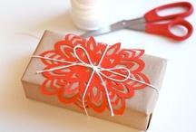 gift wrap ideas / by Adriana Rodriguez