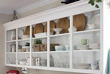 Home-Cabinets without doors / by Sherian McCoy-Oakley