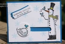 Cards Snow Much Fun Stamp