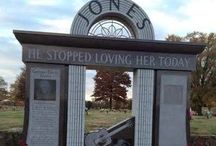 He stopped loving her today / I love cemeteries and the stories/history I learn from them. / by Kristi Stout-Champion