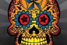 dia de los muertos - candy / sugar / mexican skull