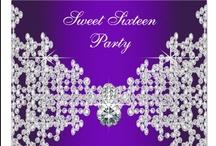 Sweet Sixteen Celebrations / Ideas for a Sweet Sixteen Party!