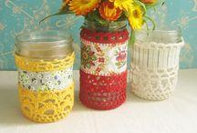 Crochet+Fabric...