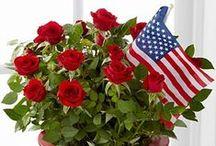 MEMORIAL DAY- 4 DE JULIO / Patriotic ideas