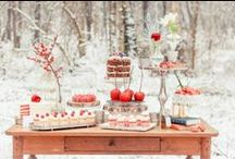 Inspiratie - Winter Wedding / Inspiration for a winter or Christmas wedding