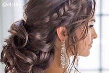Inspiratie - Hair, make-up & nails / Inspiration for your wedding make-up, styling, nails and hair