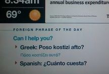 Lost in translation / Learning a language will take you everywhere, well.... not