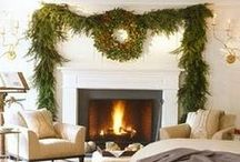 christmas / Christmas decorations in neutral tones
