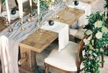 tablescape / stunning tabletop details for any occasion