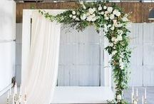 ceremony / details for creating a gorgeous and intimate wedding ceremony
