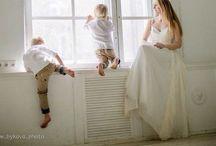 Солнечные дети / Солнечная семья. Съемка в студии в стиле Лайфстаил