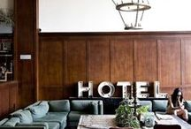 Hotel design / Hotels, BnB, apartments and all they do to make you feel at home