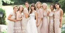 Bridesmaids / Ideas for bridesmaid dresses, I love the idea of letting my bridesmaids choose their own dress because they all have great style! I want long bridesmaids dresses.